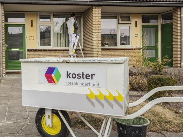 Onderhoud 20 senioren woningen in Dorst (gemeente Oosterhout)